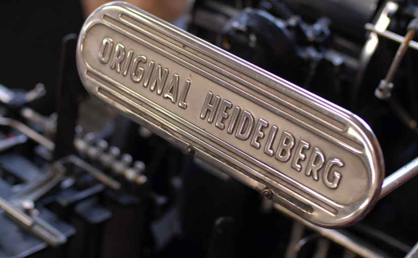 Heidelberg Offset Drucker